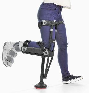 Will you continue to use crutches after your broken ankle is healed